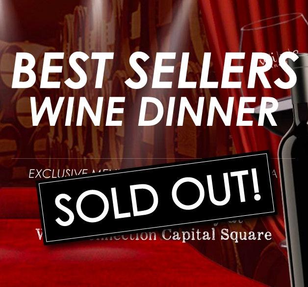 BEST SELLERS WINE DINNER