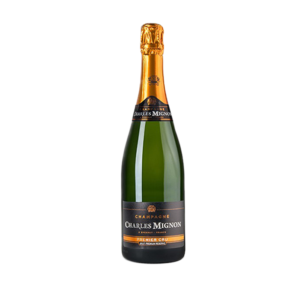 "CHARLES MIGNON Champagne Brut ""Premier Cru"" Premium Reserve"