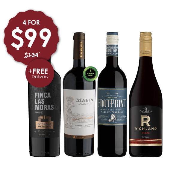 NEW WORLD REDS @ $99 + FREE DELIVERY