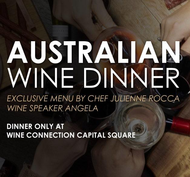 Australian Wine Dinner