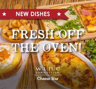 NEW CHEESEY DISHES