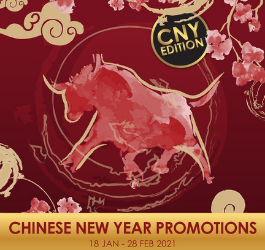EXCLUSIVE CNY PROMOTIONS + FREE GIFT TO REDEEM