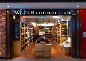 Wine Connection Retail Wine Shop at Anchor Point Singapore