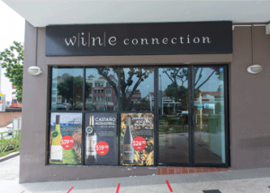 Wine Connection Retail Wine Shop at East Coast Singapore