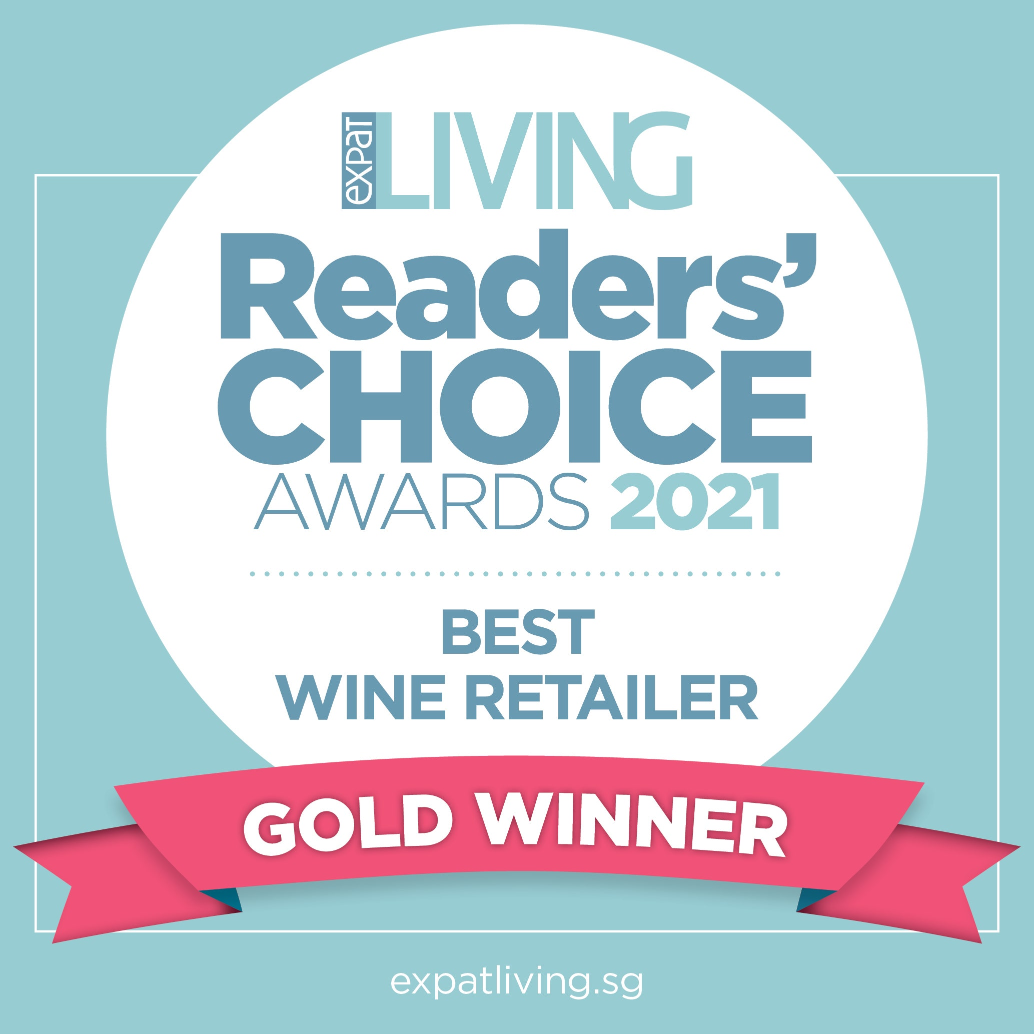 Reader Choice Gold Winner